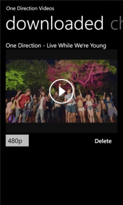One Direction Videos 1.0.0.0
