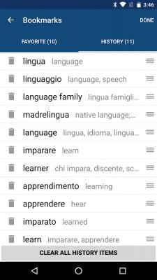 Italian English Dictionary 8.5.0