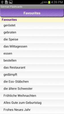German Vocabulary 2.4.2