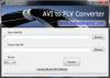 Скачать AVI FLV Converter