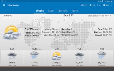 Weather & Clock Widget Android 5.9.4.8
