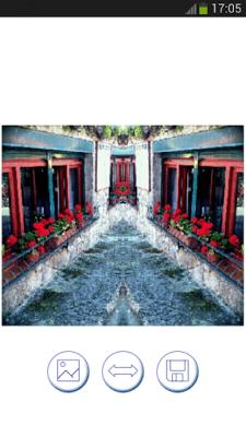 эффект зеркала для снимков 15.0