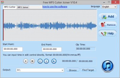 Free MP3 Cutter Joiner 10.9