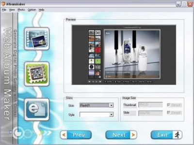 Web Album Maker 2.2