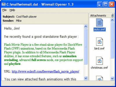 Winmail Opener 1.6