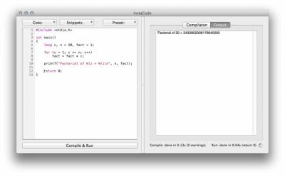 InstaCode 1.0