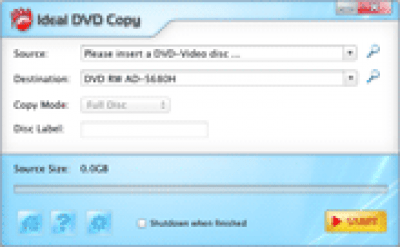 Ideal DVD Copy for Mac 2.0