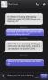 Скачать GO SMS Pro IPhoneBlack ThemeEX
