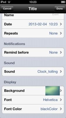 Event Reminder & Countdown 1.0
