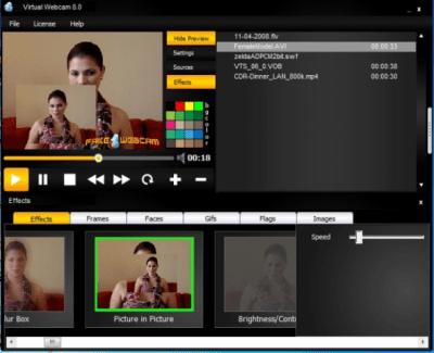 Virtual Webcam 8.0