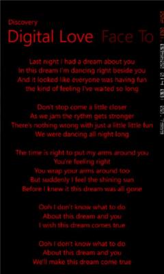 Daft Punk Lyrics 1.0.0.1