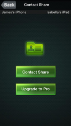 Easy Contact Share Mania : Bluetooth transfer your phonebook 2.2
