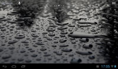 Капли воды на экране 1.2
