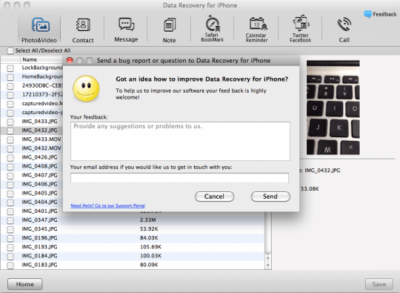 Data Recovery for iPhone for Mac 5.6.0