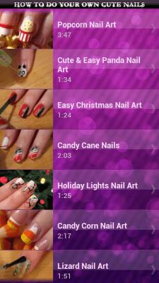 Как Сделать Ногти Красивыми 4.0