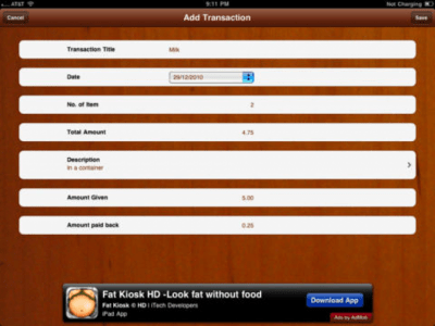Cash Register HD Lite 3.1