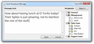 Softros LAN Messenger 9.2