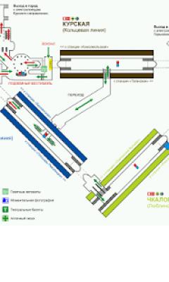 Схемы станций метро Москвы 2.0.7