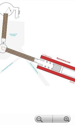 Схемы станций метро Киева 1.0.0