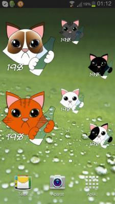 Китти кошка батареи 1.17
