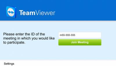 TeamViewer для конференций 10.0.35437