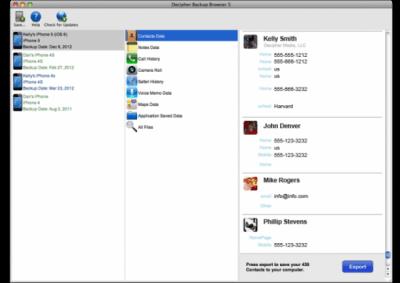 Decipher Backup Browser 8.3.1