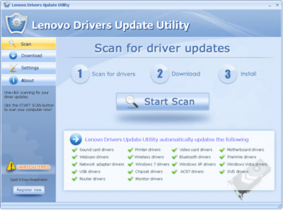 Lenovo Drivers Update Utility 3.3