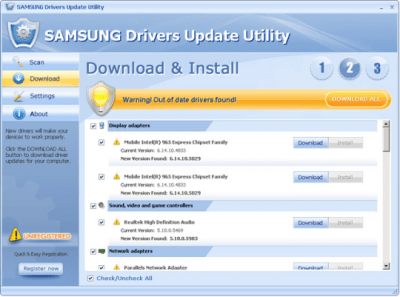 Samsung Drivers Update Utility 3.3