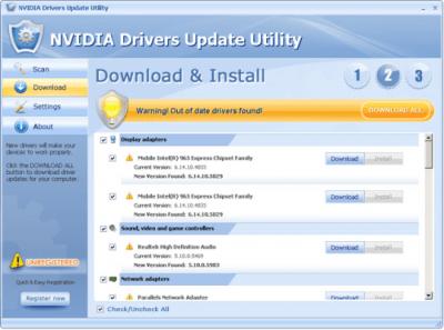 NVIDIA Drivers Update Utility 3.3