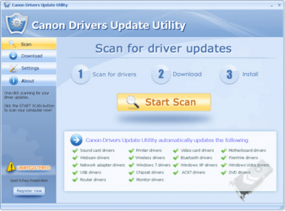 Canon Drivers Update Utility 3.3