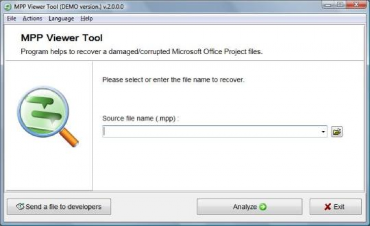 Project Reader the viewer for Microsoft Project