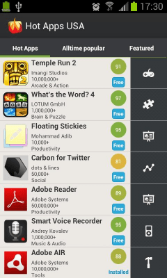 Hot Apps 1.61