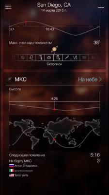 Sky Live - звёздный прогноз 1.2.3