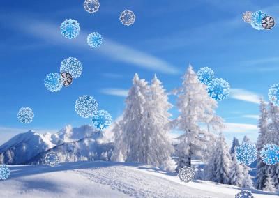 Снег на рабочий стол 1.3.3