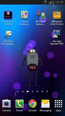 Monsters Battery Widget 1.0