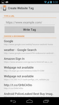 NFC Writer by Tagstand 2.0.2