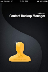 Contacts Backup Management - Contact Manager 1.6