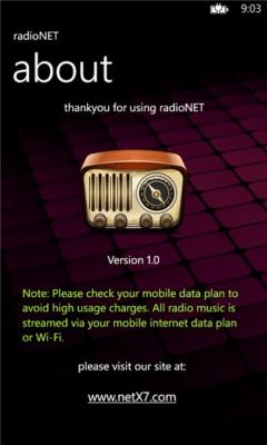 radioNET 1.2.0.0