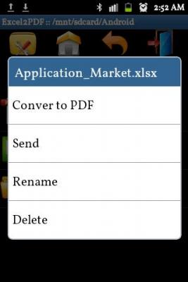 Excel to PDF Converter 1.3