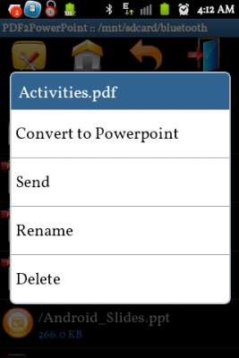 PDF to PowerPoint Converter 1.0