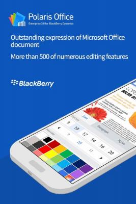 Polaris Office for BlackBerry 3.0.14