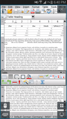AndrOpen Office 4.1.0