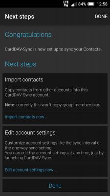 CardDAV-Sync free 0.4.21
