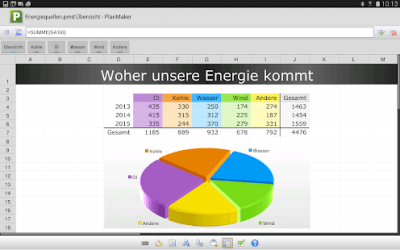 FREE Office: PlanMaker Mobile 2012.704