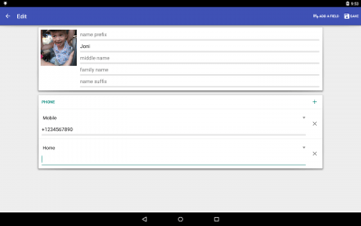 Contacts VCF 4.0.58
