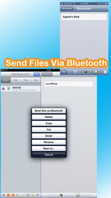 Bluetooth U+(Share files and Photo Library) 1.5.6