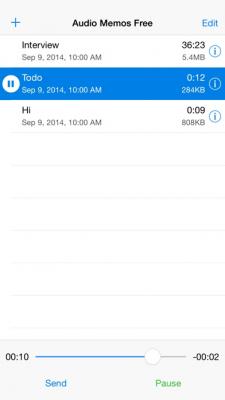Audio Memos Free - The Voice Recorder 4.8.1