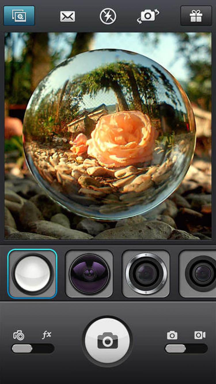 приложение на айфон объектив фото зря рептилия