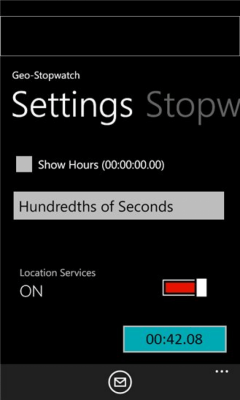 GPS-Stopwatch 1.2.0.0