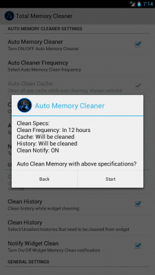 Total Memory Cleaner Free 2.2f